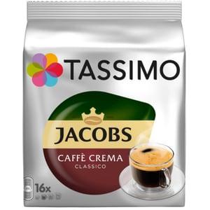 Capsule cafea JACOBS Tassimo Cafe Crema Classico, 16 capsule, 112g