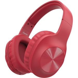Casti HAMA Calypso, 184060, Bluetooth, Over-Ear, Microfon, rosu