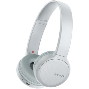 Casti SONY WH-CH510, Bluetooth, On-Ear, Microfon, alb