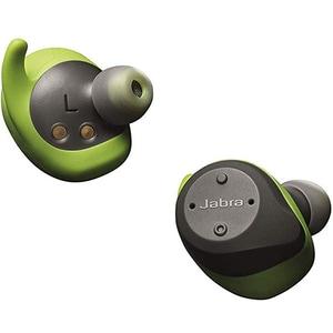 Casti JABRA Elite Sport, True Wireless Bluetooth, In-Ear, Microfon, Noise Cancelling, gri - verde