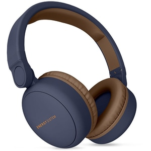 Casti ENERGY SISTEM Headphones 2, ENS444885, Bluetooth, On-Ear, Microfon, albastru