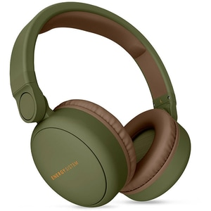 Casti ENERGY SISTEM Headphones 2, ENS445615, Bluetooth, On-Ear, Microfon, verde