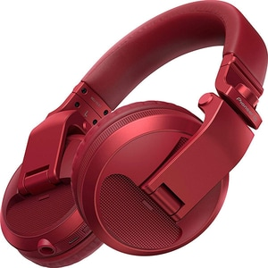Casti PIONEER HDJ-X5BT-R, Bluetooth, Over-Ear, Microfon, rosu