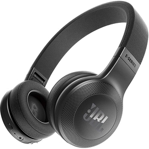 Casti JBL E45BT, Bluetooth, On-Ear, Microfon, negru