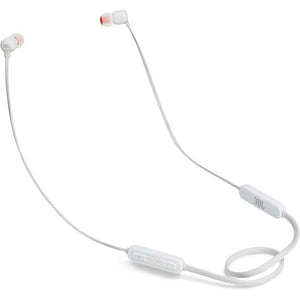 Casti JBL Tune 110BT, Bluetooth, In-ear, Microfon, alb