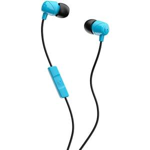 Casti SKULLCANDY Jib S2DUYK-628, Cu Fir, In-Ear, Microfon, albastru