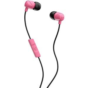 Casti SKULLCANDY Jib S2DUYK-630, Cu Fir, In-Ear, Microfon, roz