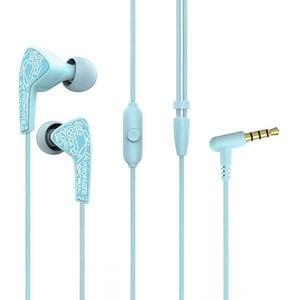 Casti PROMATE Medly-1, Cu Fir, In-Ear, Microfon, verde