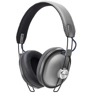 Casti PANASONIC RP-HTX80BE-H, Bluetooth, On-Ear, Microfon, gri