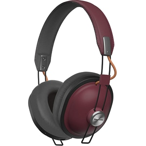 Casti PANASONIC RP-HTX80BE-R, Bluetooth, On-Ear, Microfon, grena
