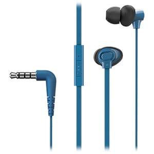 Casti PANASONIC RP-TCM130E, Cu Fir, In-Ear, Microfon, albastru