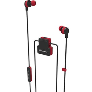 Casti PIONEER ClipWear Active SE-CL5BT-R, Bluetooth, In-Ear, Microfon, rosu