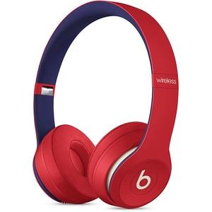 Casti BEATS Solo3 Club Collection, Bluetooth, On-Ear, Microfon, rosu-albastru