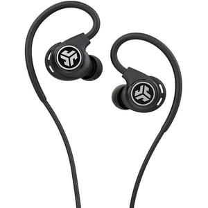Casti JLAB Fit Sport 3, Cu Fir, In-Ear, Microfon, negru