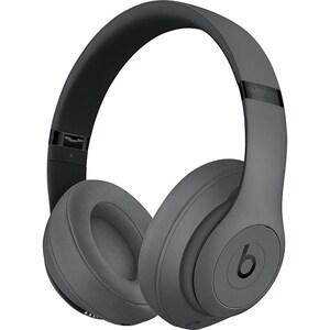 Casti BEATS Studio 3 MTQY2ZM/A, Bluetooth, Over-Ear, Microfon, Noise Cancelling, gri