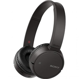 Casti SONY WHCH500B, Bluetooth, NFC, On-Ear, Microfon, negru