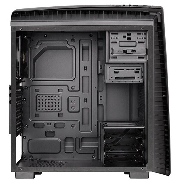 Carcasa THERMALTAKE CA-1H6-00M1WN-00, USB 3.0, fara sursa, negru