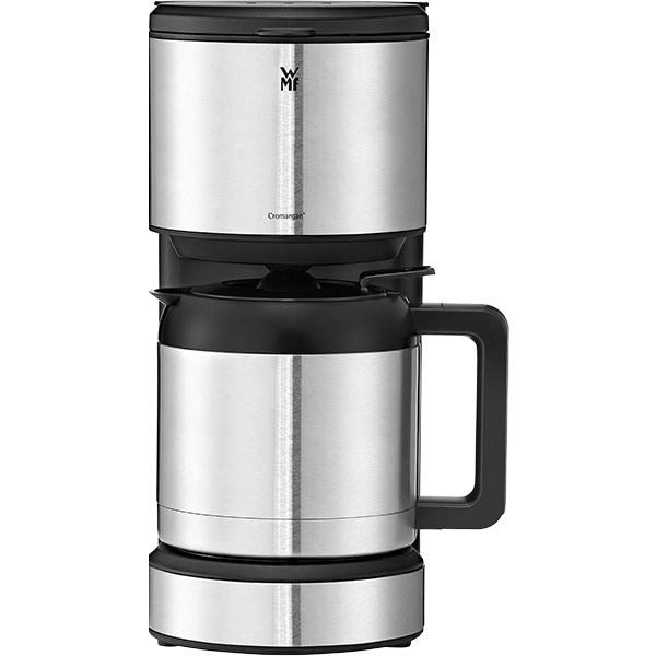 Cafetiera WMF Stelio 412160011, 1l, 1000W, argintiu-negru