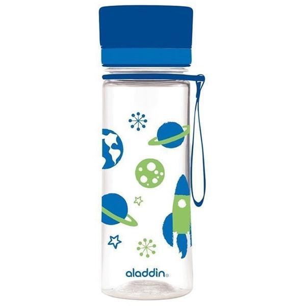 Sticla ALADDIN Aveo 1001101092, 0.35l, plastic, albastru