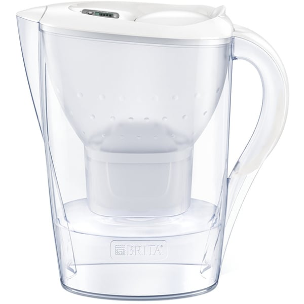 Cana filtranta BRITA Marella Maxtra+ BR1039270, 2.4l, alb-transparent