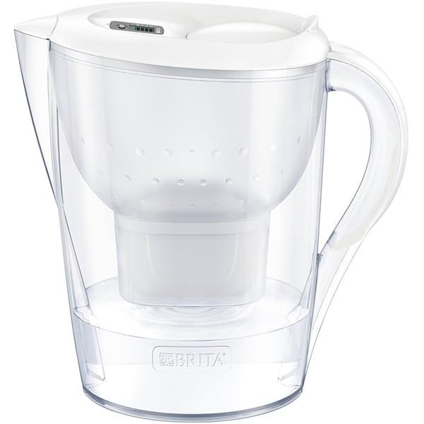 Cana filtranta BRITA Marella + 3 filtre Maxtra+ BR1040212, 3.5l, alb-transparent