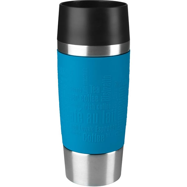 Recipient pentru bauturi TEFAL Travel Mug F2010110, 0.36l, otel, albastru
