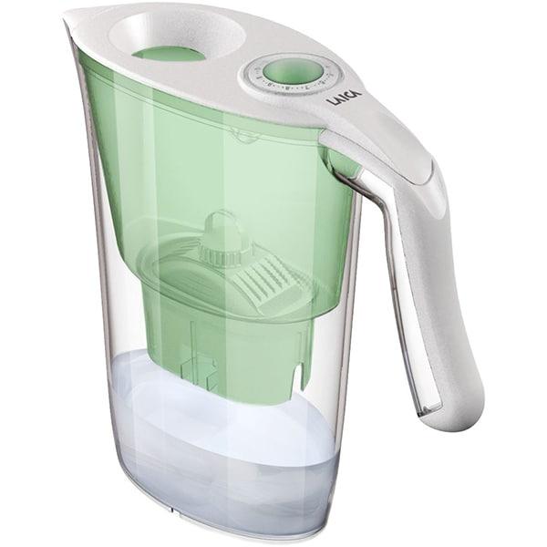Cana filtranta LAICA Aida J35EC, 2.3l, verde-transparent
