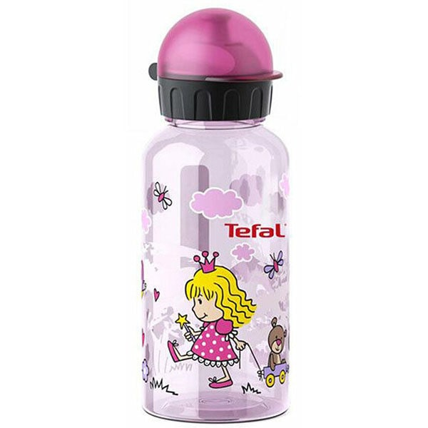 Sticla apa pentru copii TEFAL Tritan Printesa K3170114, 0.4l, sticla, multicolor