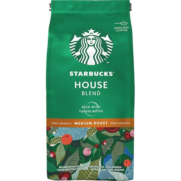 Cafea macinata STARBUCKS House Blend 12452609, 200g