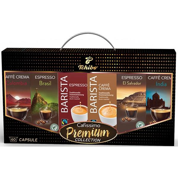 Pachet capsule cafea TCHIBO Premium Collection 517975, 60 capsule, 480g