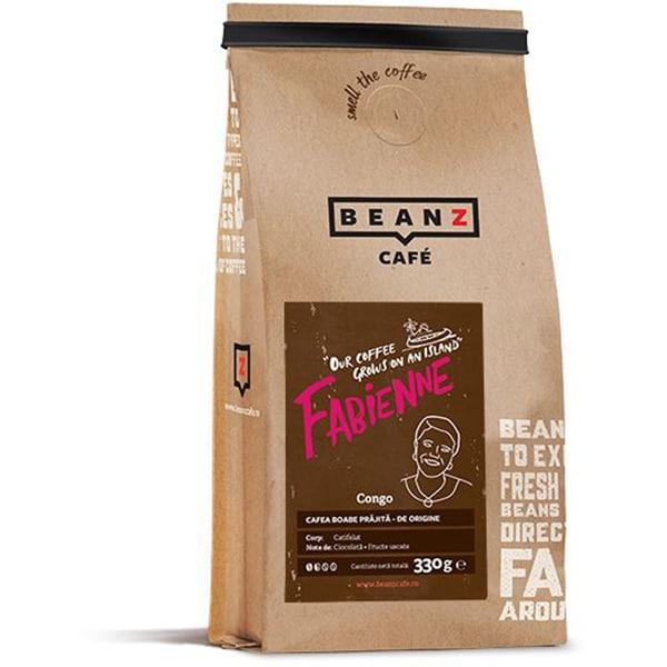 Cafea boabe BEANZ Fabienne 100% Arabica, 330g