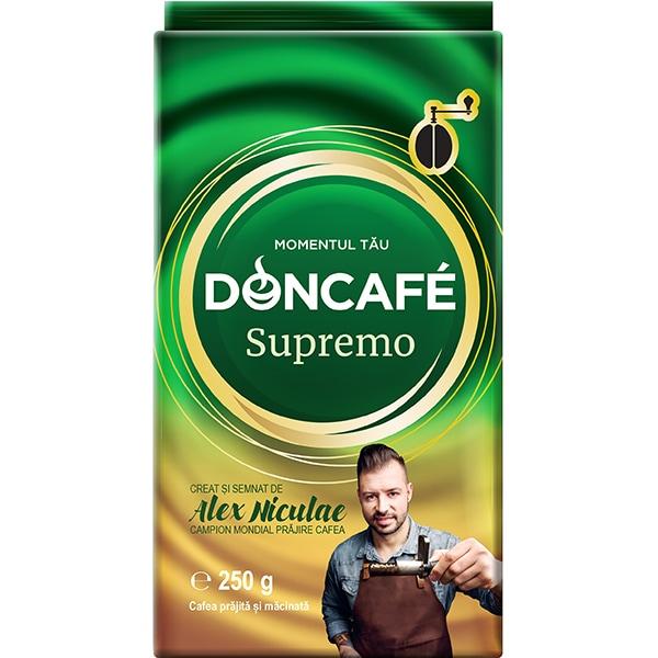Cafea macinata DONCAFE Supremo 304937, 250g