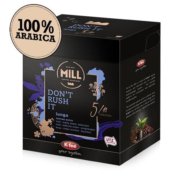 Capsule cafea MR & MRS MILL Don't Rush It compatibilitate cu Tchibo, 12 capsule, 96g