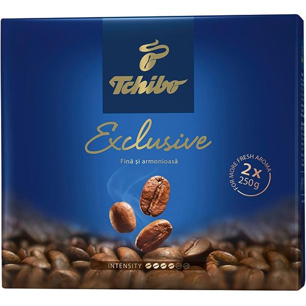 Cafea macinata TCHIBO Exclusive DuoPack 458505, 2 x 250g