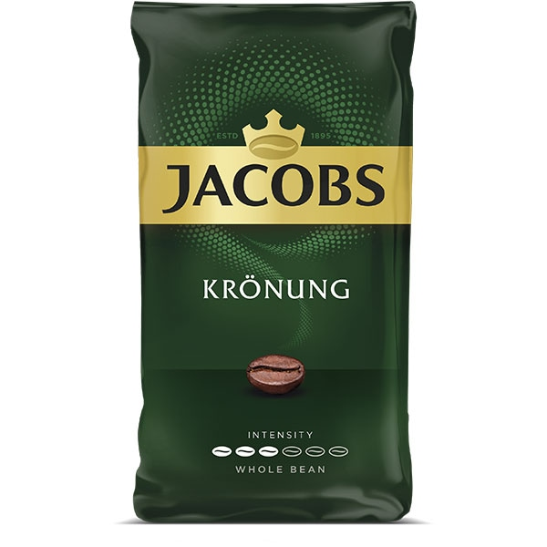 Cafea boabe JACOBS Kronung, 500g