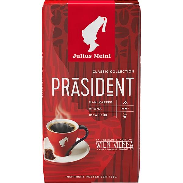 Cafea macinata JULIUS MEINL Prasident, 500g