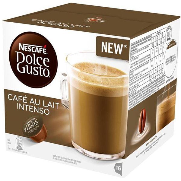 Capsule cafea NESCAFE Dolce Gusto Cafe Au Lait Intenso, 16 capsule, 160g