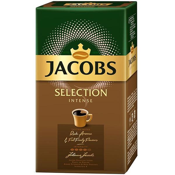 Cafea macinata JACOBS Selection Intense, 500g