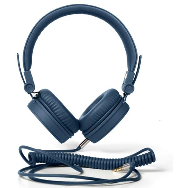 Casti FRESH 'N REBEL Caps 156300, Cu Fir, On-Ear, Microfon, albastru
