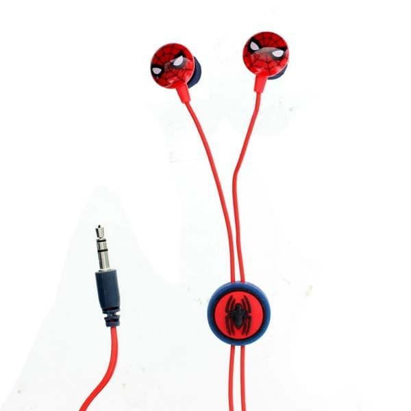 Casti Spiderman 159841, Cu Fir, In-Ear, rosu