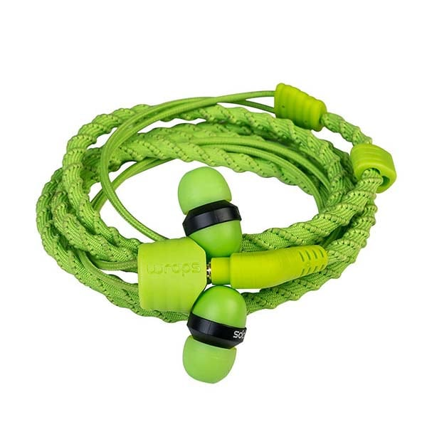 Casti Wraps Talk 159857, Cu Fir, In-ear, Microfon, verde