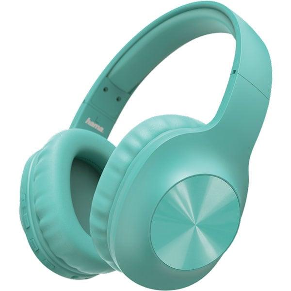 Casti HAMA Calypso, 184061, Bluetooth, Over-Ear, Microfon, albastru
