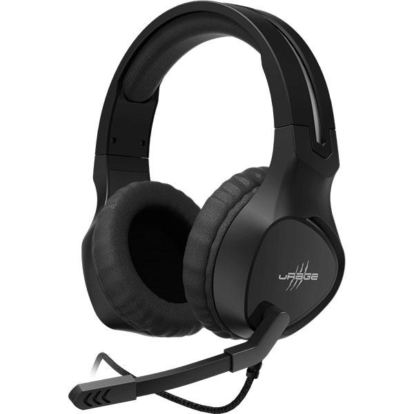 Casti Gaming HAMA uRage SoundZ 300, stereo, 3.5mm, negru