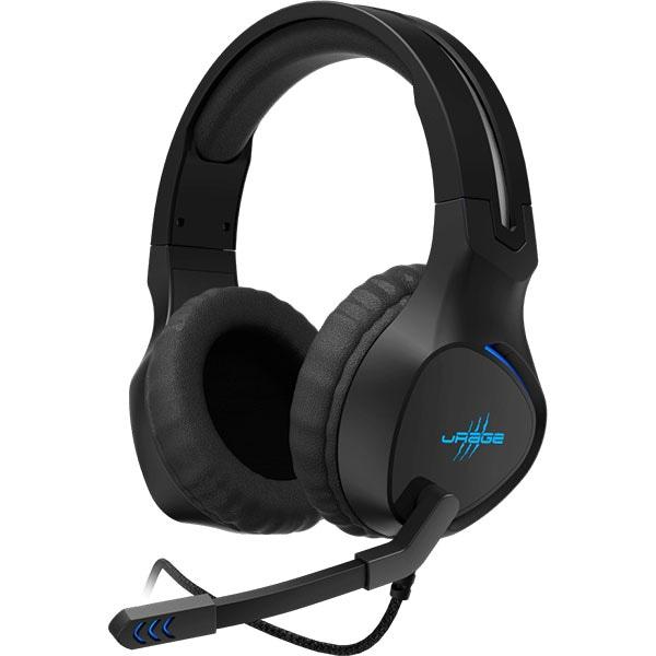 Casti Gaming HAMA uRage SoundZ 400, stereo, USB, negru