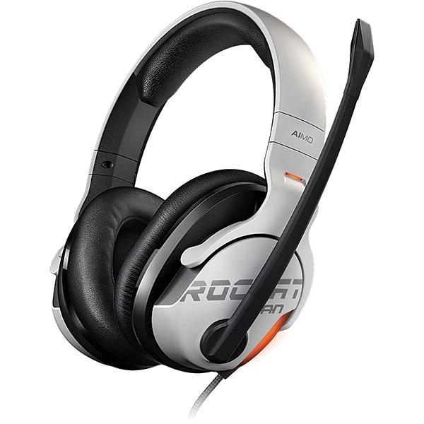 Casti Gaming ROCCAT Khan AIMO, 7.1 surround, USB, alb