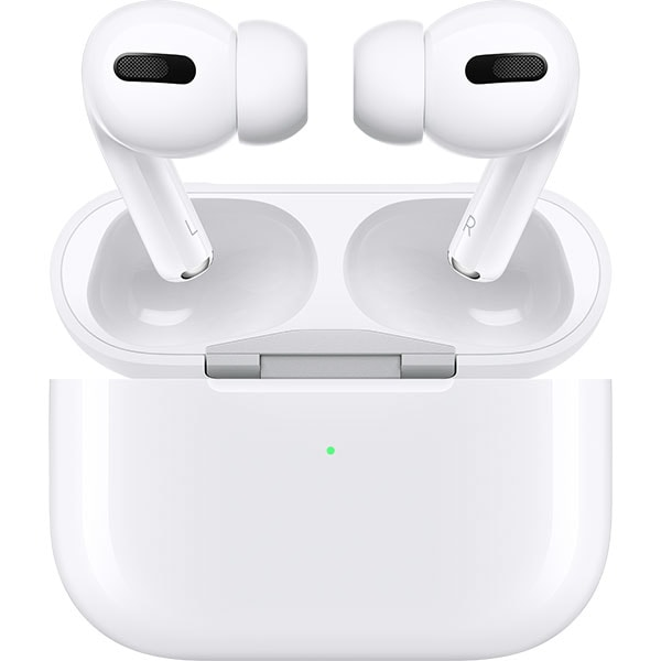 Casti APPLE AirPods Pro, MWP22ZM/A, True Wireless, Bluetooth, In-Ear, Microfon, Noise Cancelling, Alb