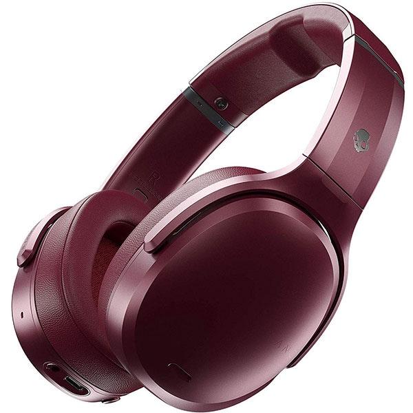Casti SKULLCANDY Crusher ANC S6CPW-M685, Bluetooth, On-Ear, Microfon, Noise Cancelling, rosu