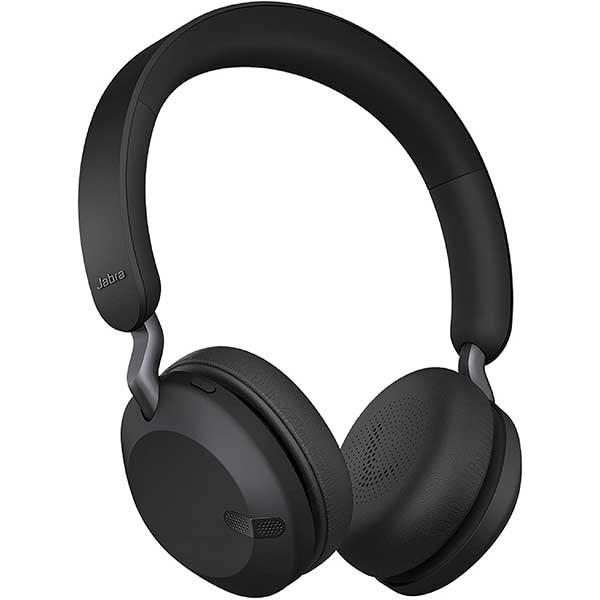 Casti JABRA Elite 45h, Bluetooth, On-Ear, Microfon, Titanium Black