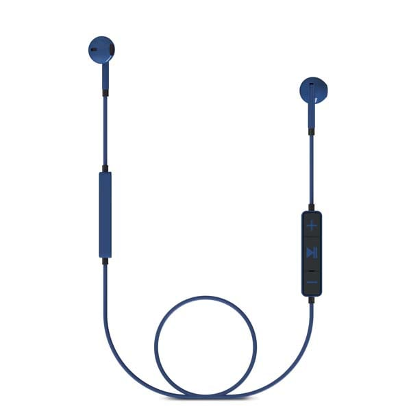 Casti ENERGY SISTEM Earphones 1 ENS428342, Bluetooth, In-Ear, Microfon, albastru