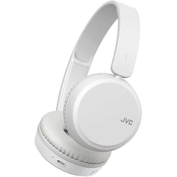 Casti JVC HA-S35BT-W-U, Bluetooth, On-Ear, Microfon, alb